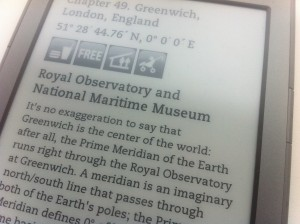 The Geek Atlas on ebook reader