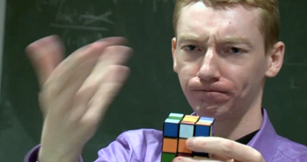 James Grime, cubing hard