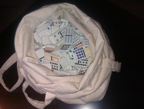 domino bag
