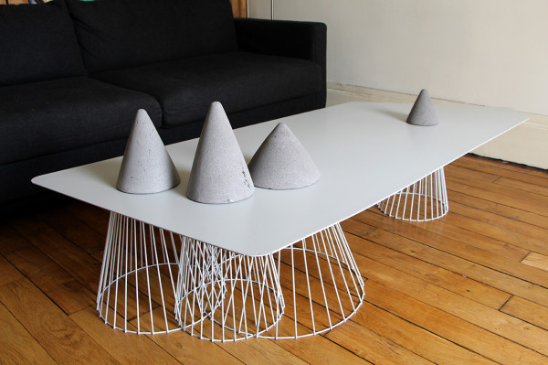 Vuoristo coffee table