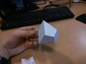 Herschel enneahedron model