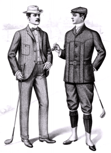 From the Sartorial Arts Journal, New York, 1901