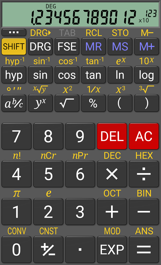Review: CALX, a calculator for iPhone   The Aperiodical