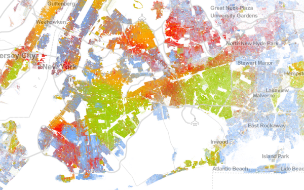 The Racial Dot Map The Aperiodical