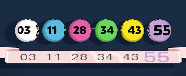 Lottery balls - new colour is purple (from the National Lottery's explanation video)