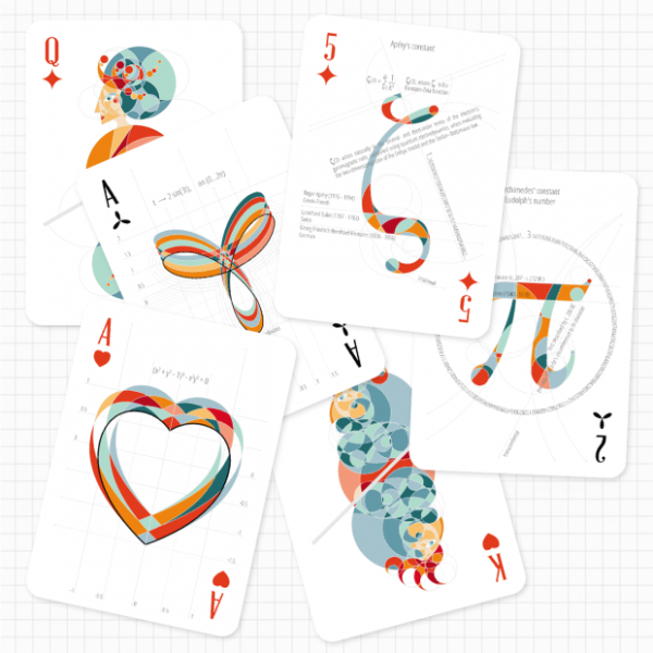 math stack a really pretty deck of cards with maths on the