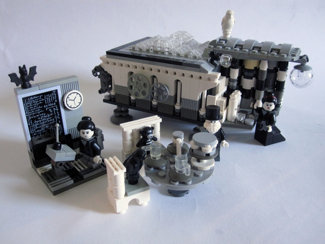 Analytic Engine LEGO set