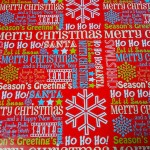 I call this one 'Christmas Wordcloud'