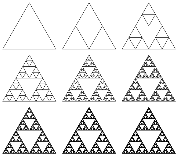 Aperiodvent Day 21 Sierpinski Triangles The Aperiodical