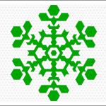 Nice use of hexagons