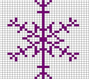 Nicola's stitch chart