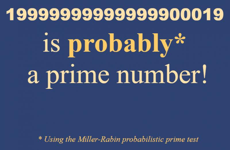 probable prime