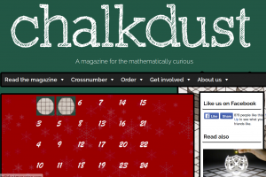 Chalkdust Advent Calendar