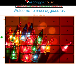 mscroggs.co.uk Advent Calendar