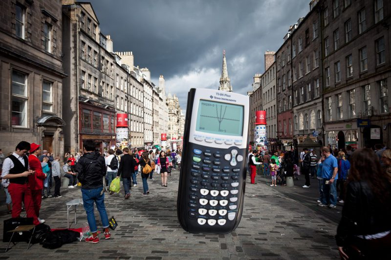 Maths at the Edinburgh Fringe