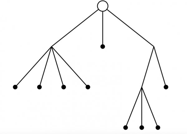 Figure 3: A plane tree with 13 nodes