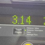 Treadmill reading 3.14km