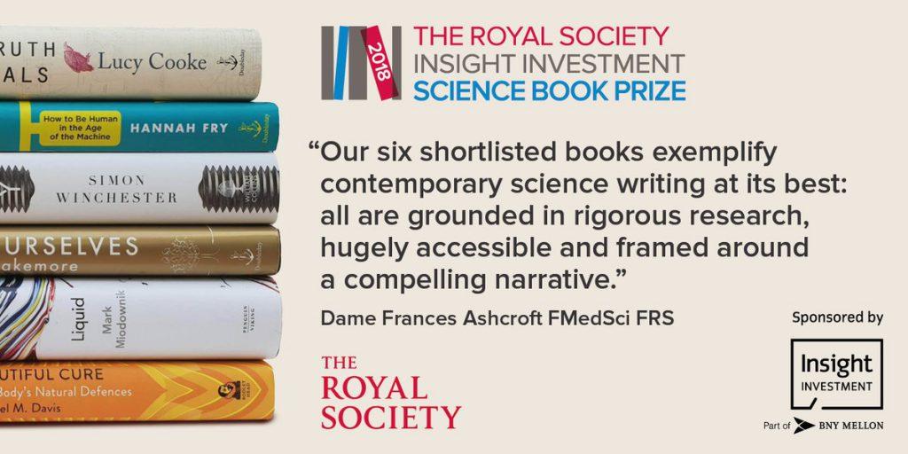 Royal Society Science Book Prize 2018