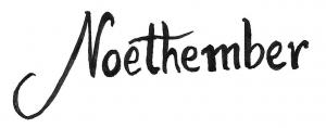 Noethember Logo
