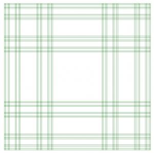 Cantor Tartan pattern