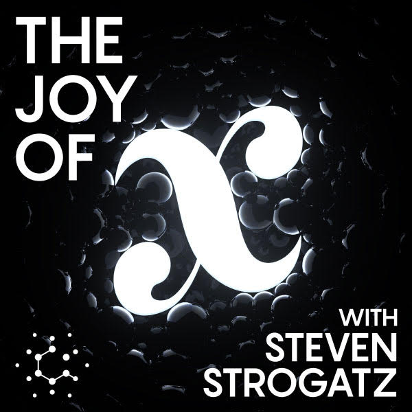 The Joy of x podcast logo