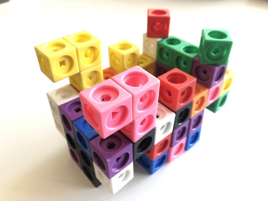 Number block cubes