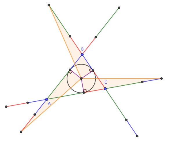 Three more also-congruent triangles