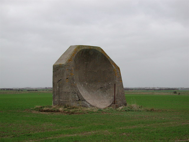 WW1 Acoustic Mirror, Kilnsea, by Paul Glazzard