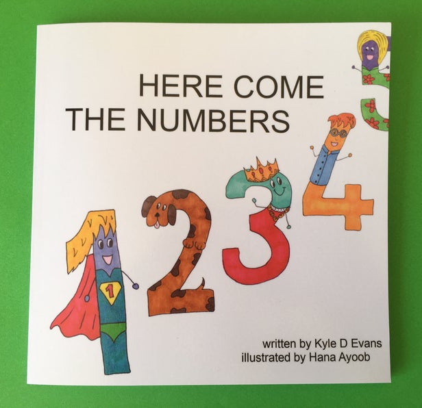 Hana's book Here Come The Numbers