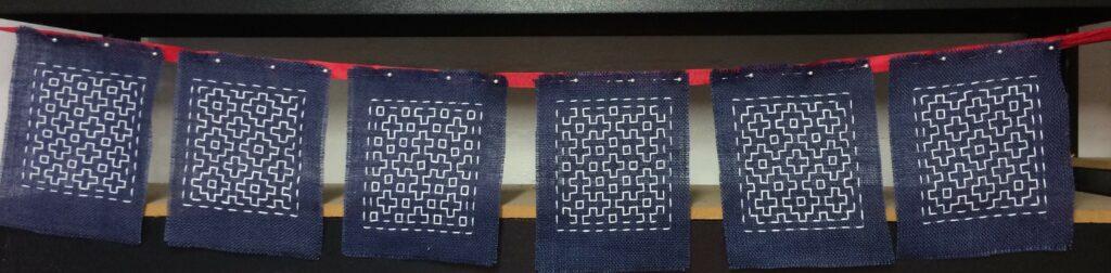 Katherine Seaton's fractal bunting