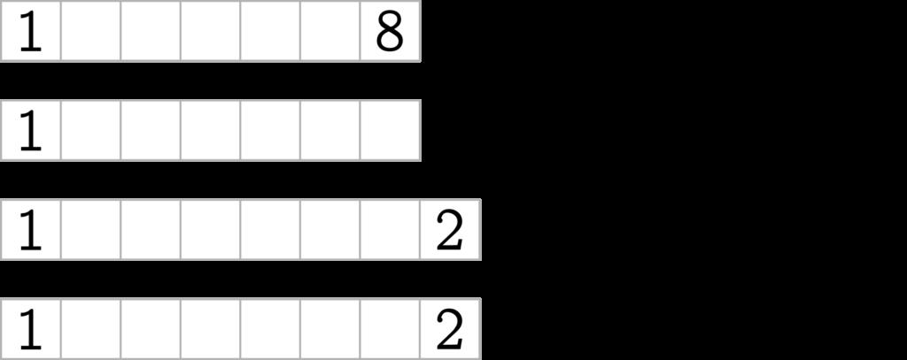1 ? ? ? ? ? 8 filled from 123-= 1 ? ? ? ? ? ? filled from 2345×= 1 ? ? ? ? ? ? 2 filled from 348+÷= 1 ? ? ? ? ? ? 2 filled from 345+×=