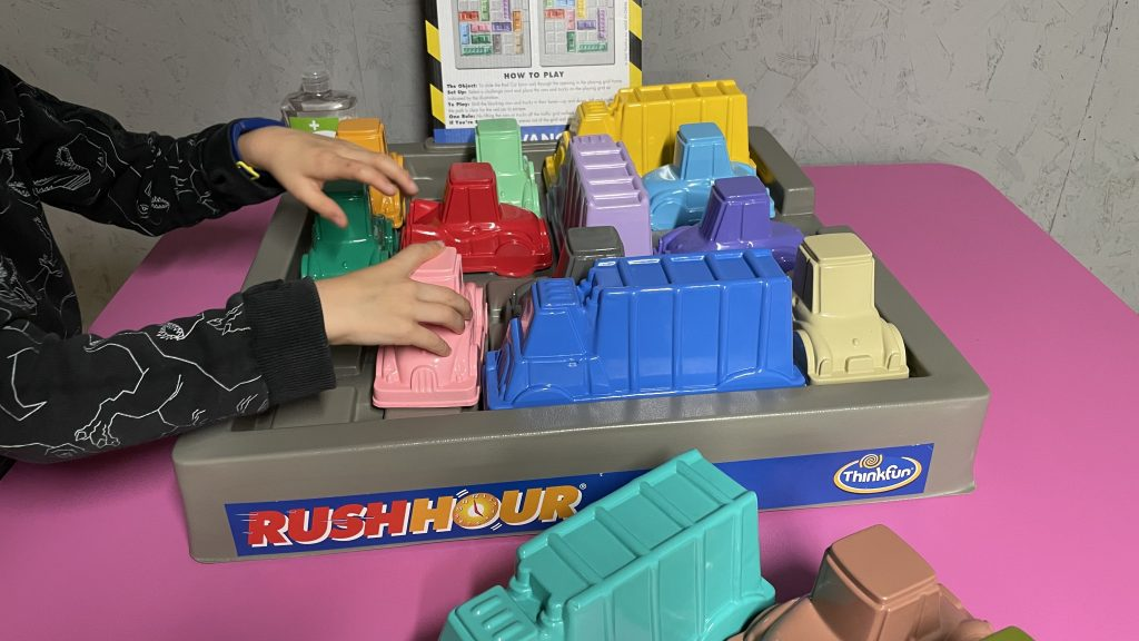 Giant Rush Hour puzzle